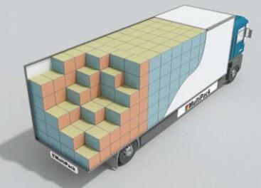 kontener i samochód cieżarowy